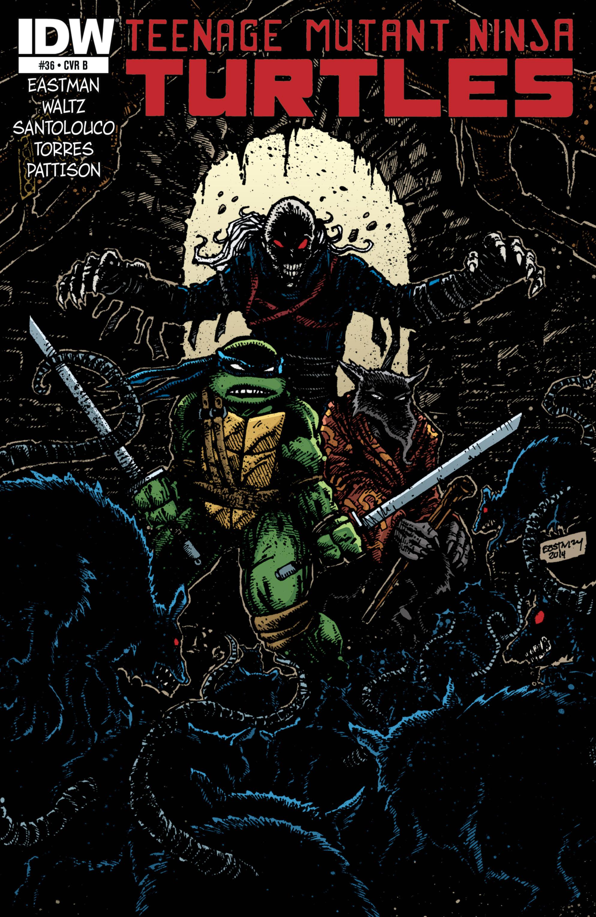 Read online Teenage Mutant Ninja Turtles (2011) comic -  Issue #36 - 2