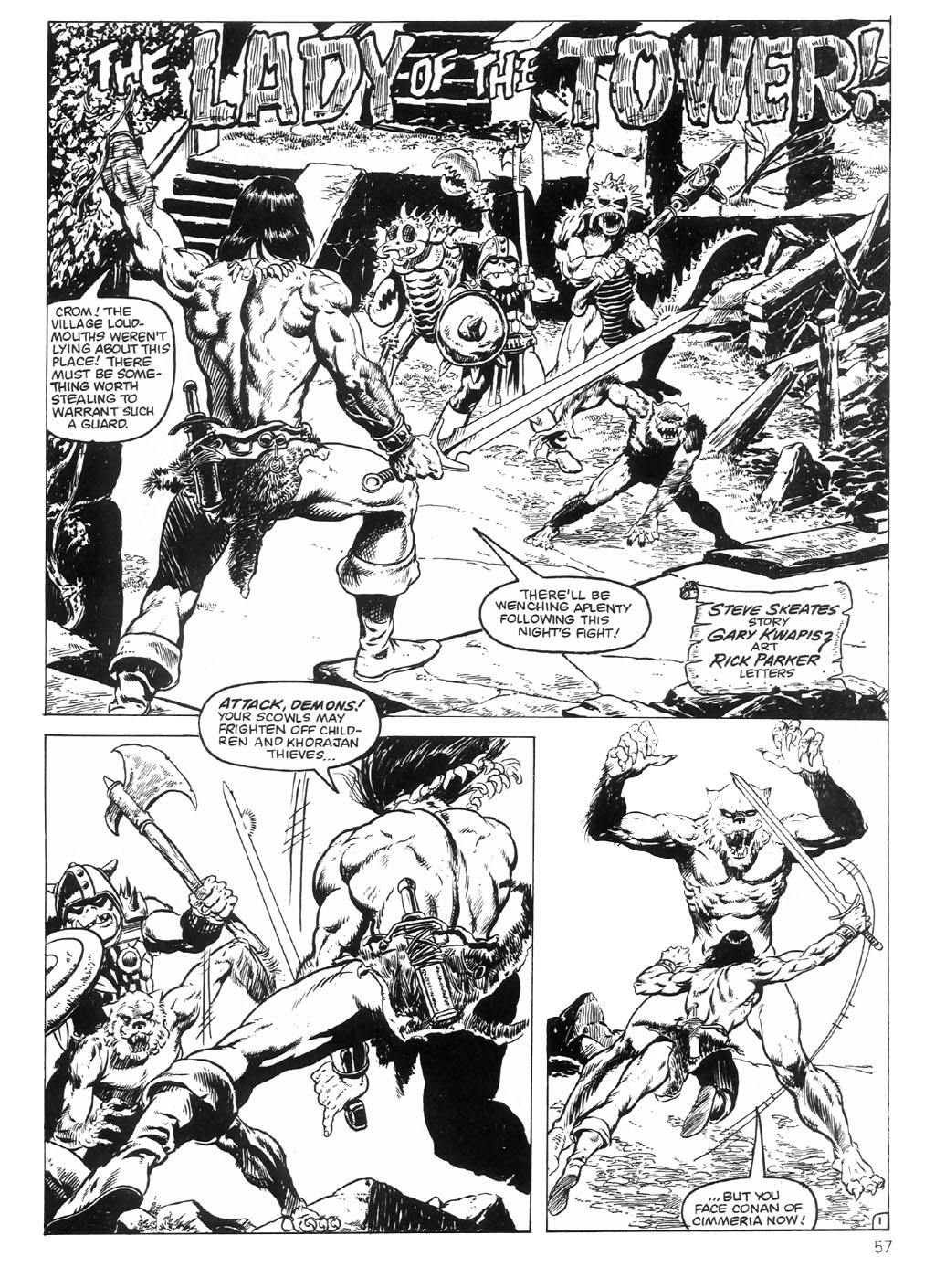 The Savage Sword Of Conan Issue #98 #99 - English 57