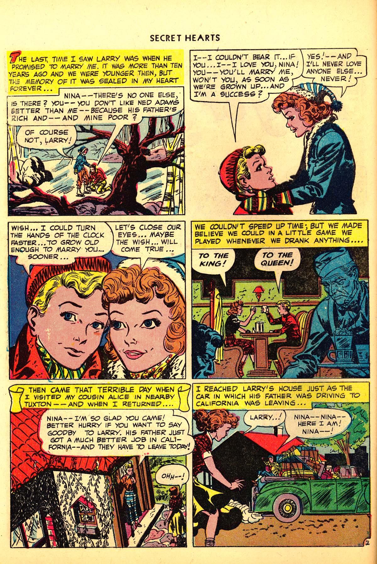 Read online Secret Hearts comic -  Issue #6 - 42
