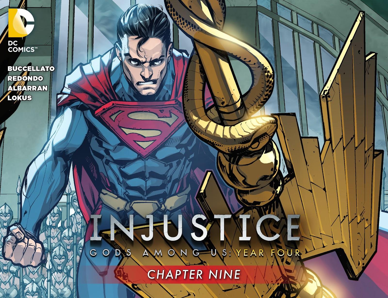 Injustice: Gods Among Us Year Four Issue #9 #10 - English 1