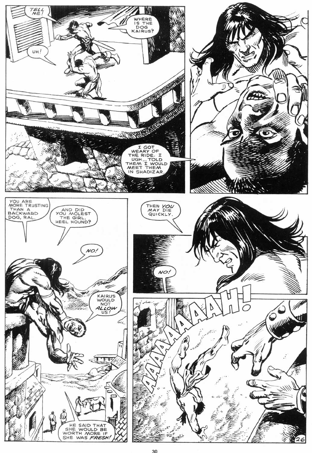 The Savage Sword Of Conan Issue #156 #157 - English 30