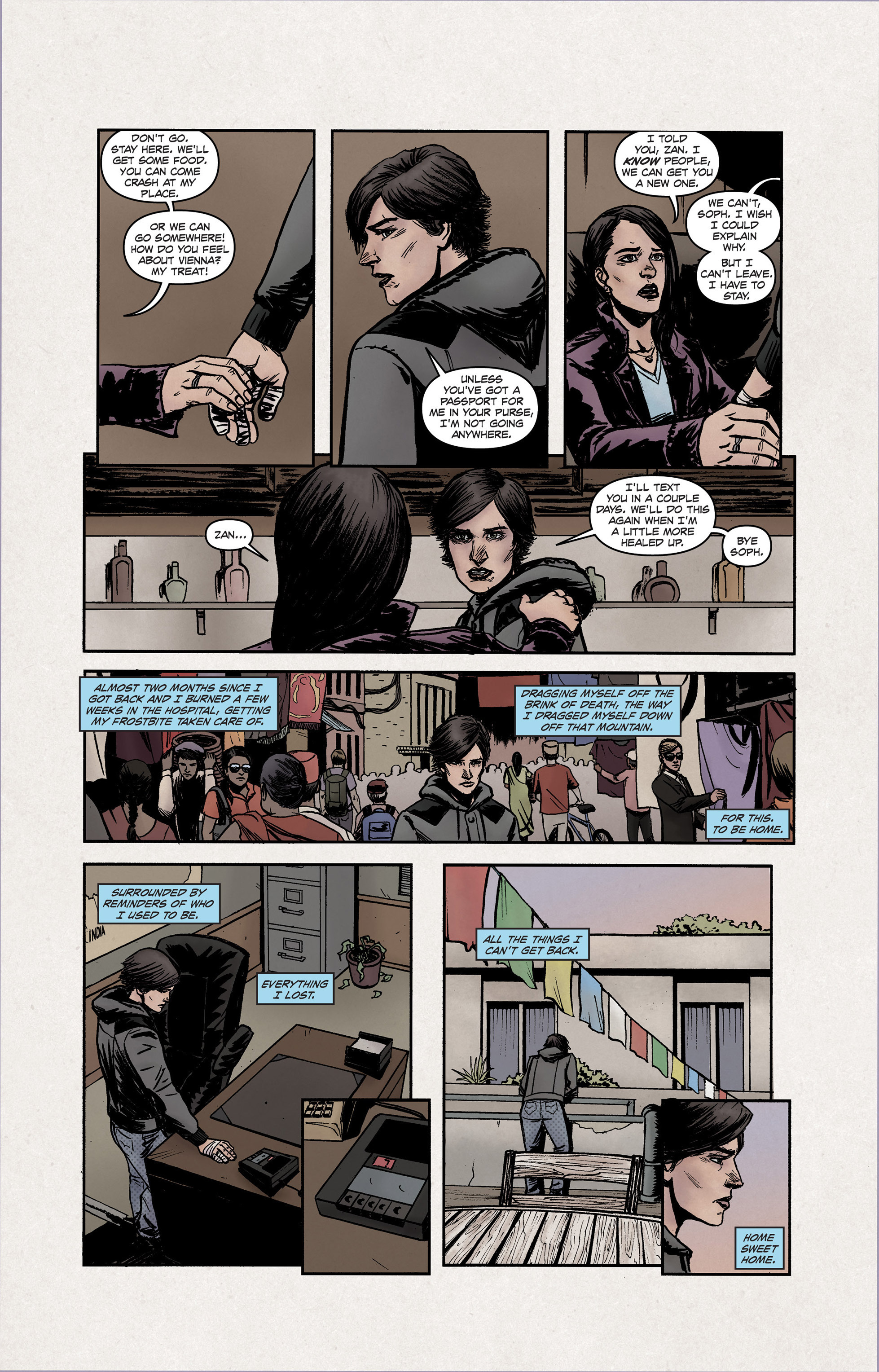 Read online High Crimes comic -  Issue #12 - 14