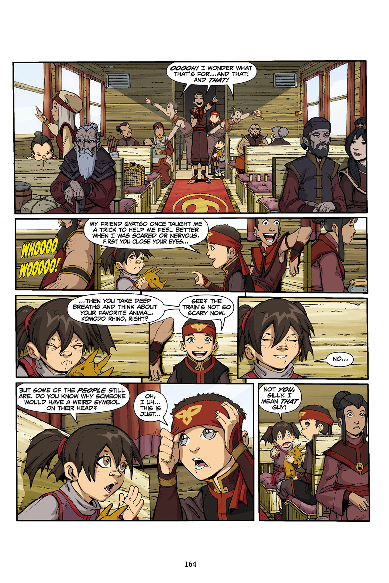 Nickelodeon Avatar: The Last Airbender - The Lost Adventures chap full pic 165