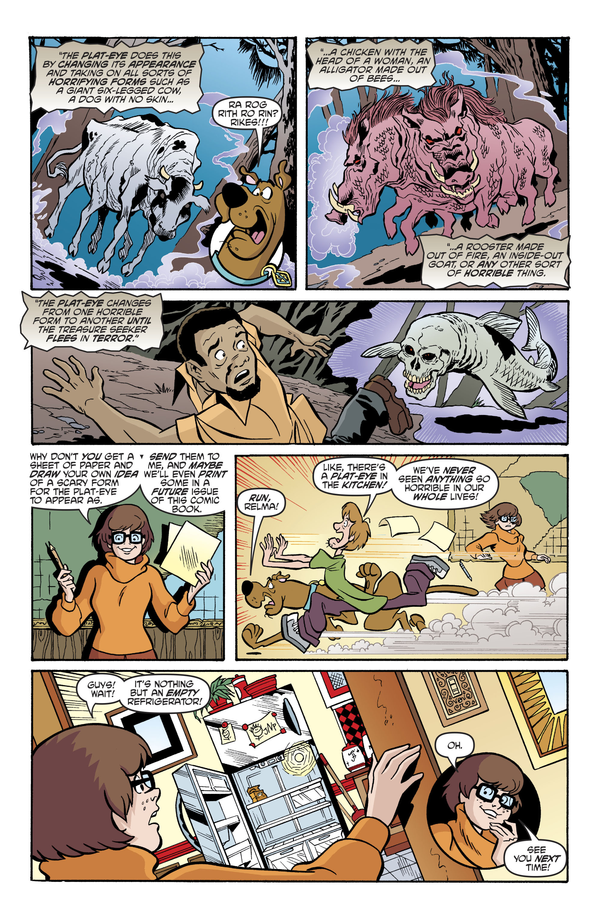 Read online Scooby-Doo: Where Are You? comic -  Issue #79 - 13