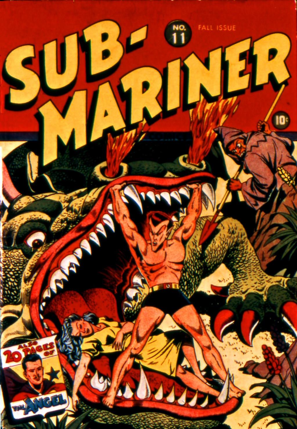 Sub-Mariner Comics 11 Page 1