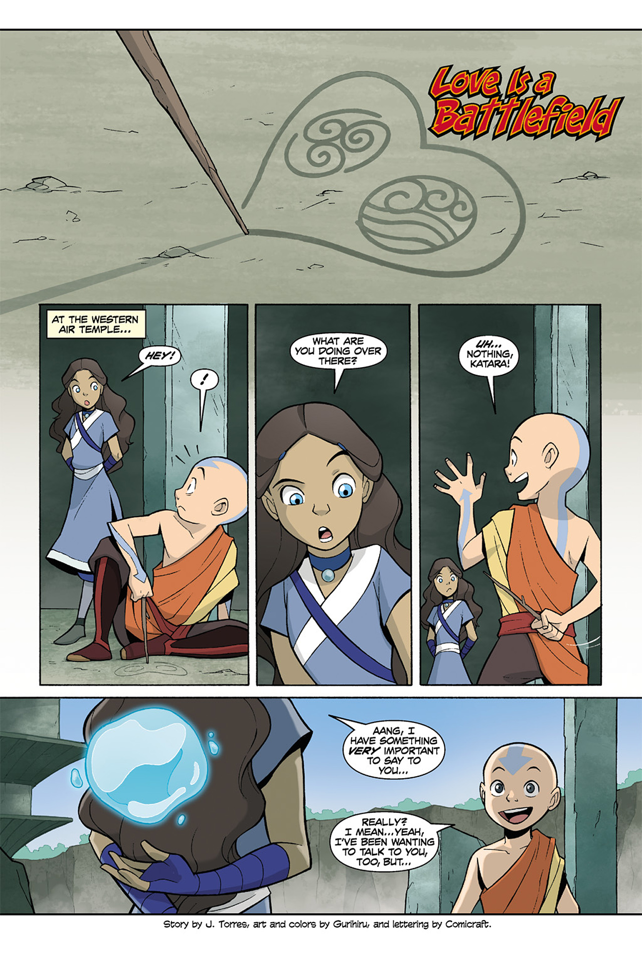 Nickelodeon Avatar: The Last Airbender - The Lost Adventures chap full pic 190