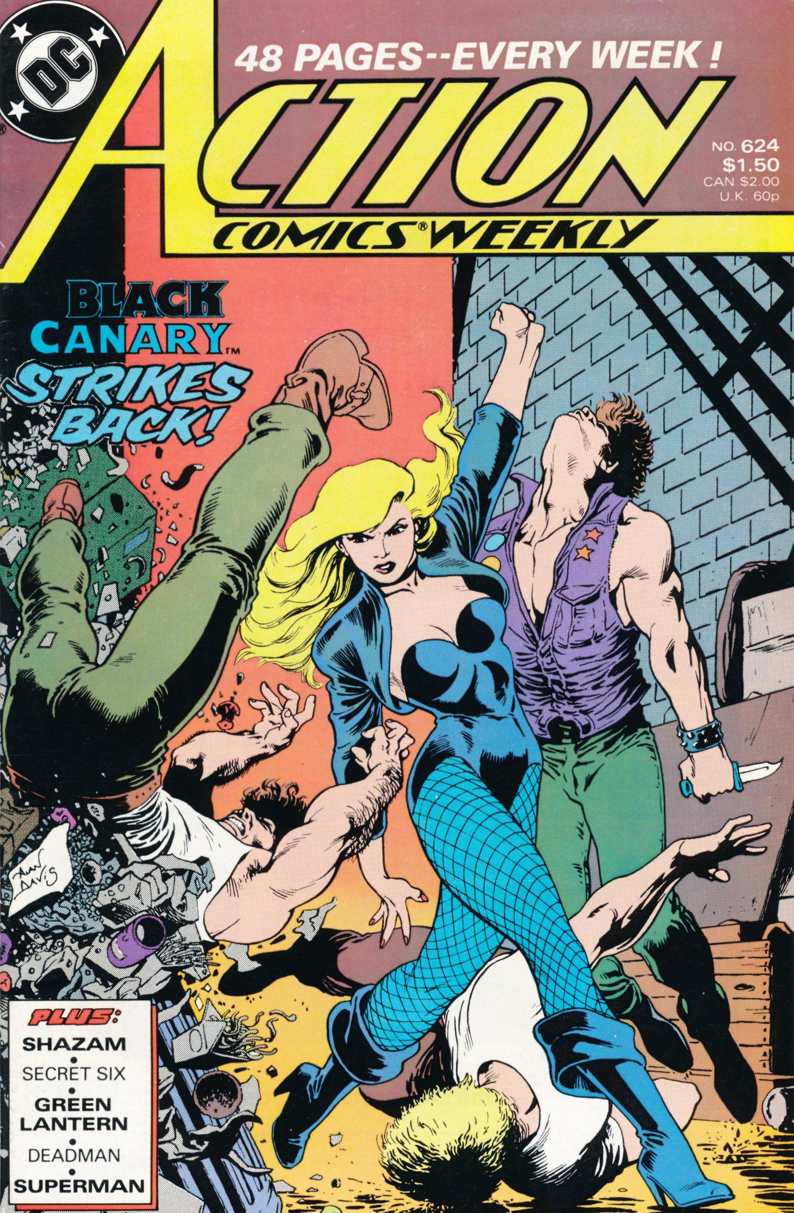 Action Comics (1938) 624 Page 1