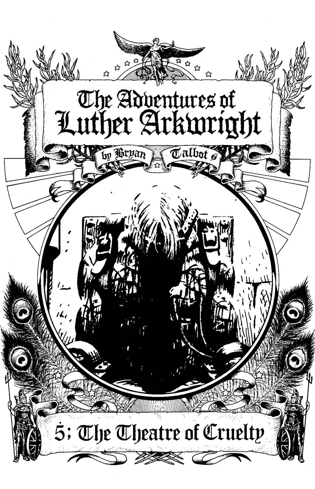 Read online The Adventures of Luther Arkwright comic -  Issue #5 - 3