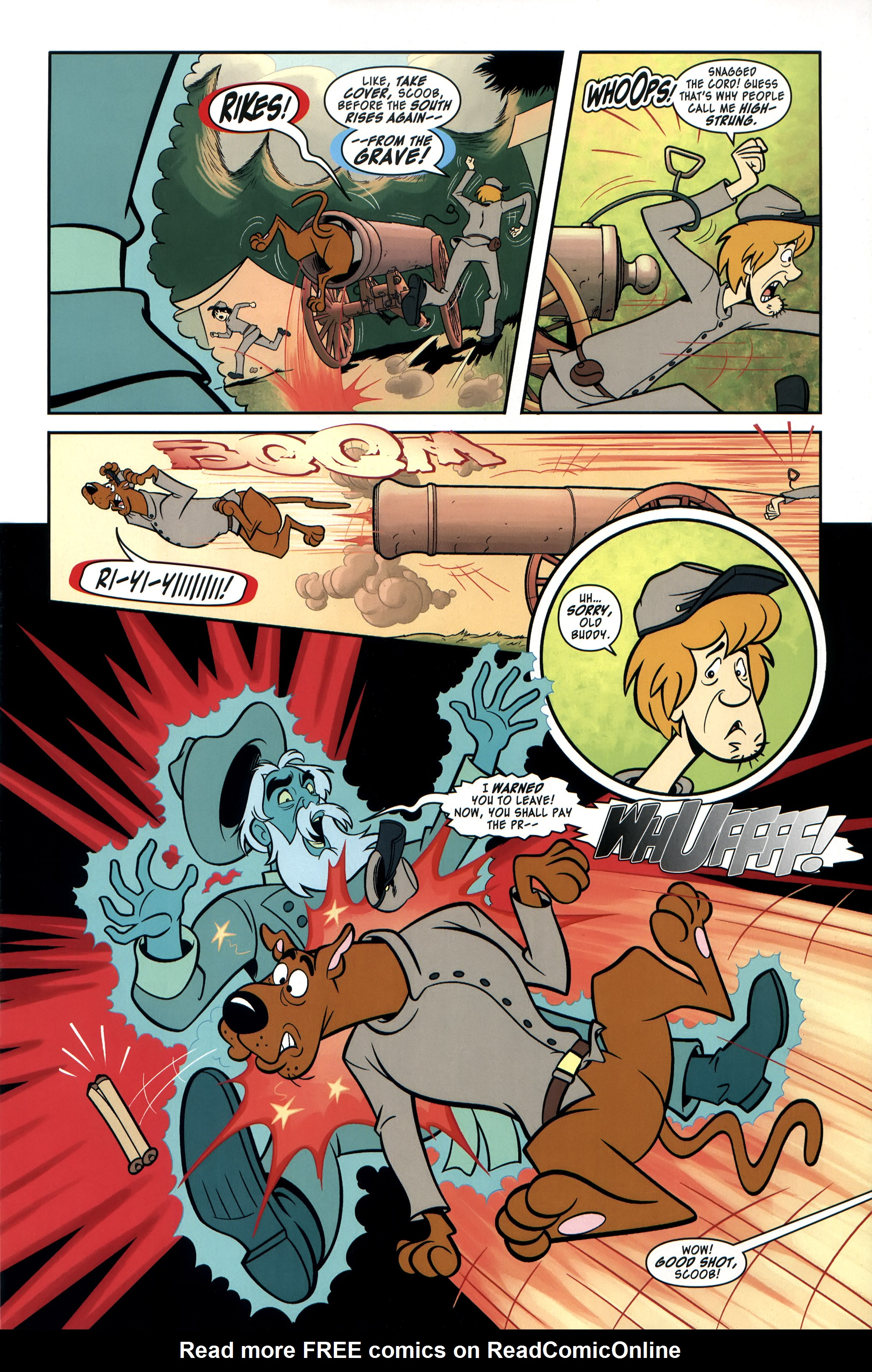 Read online Scooby-Doo: Where Are You? comic -  Issue #35 - 9
