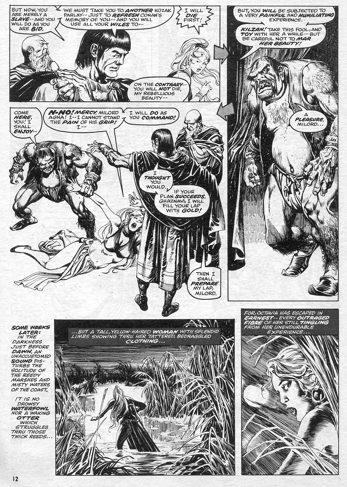 The Savage Sword Of Conan Issue #15 #16 - English 12