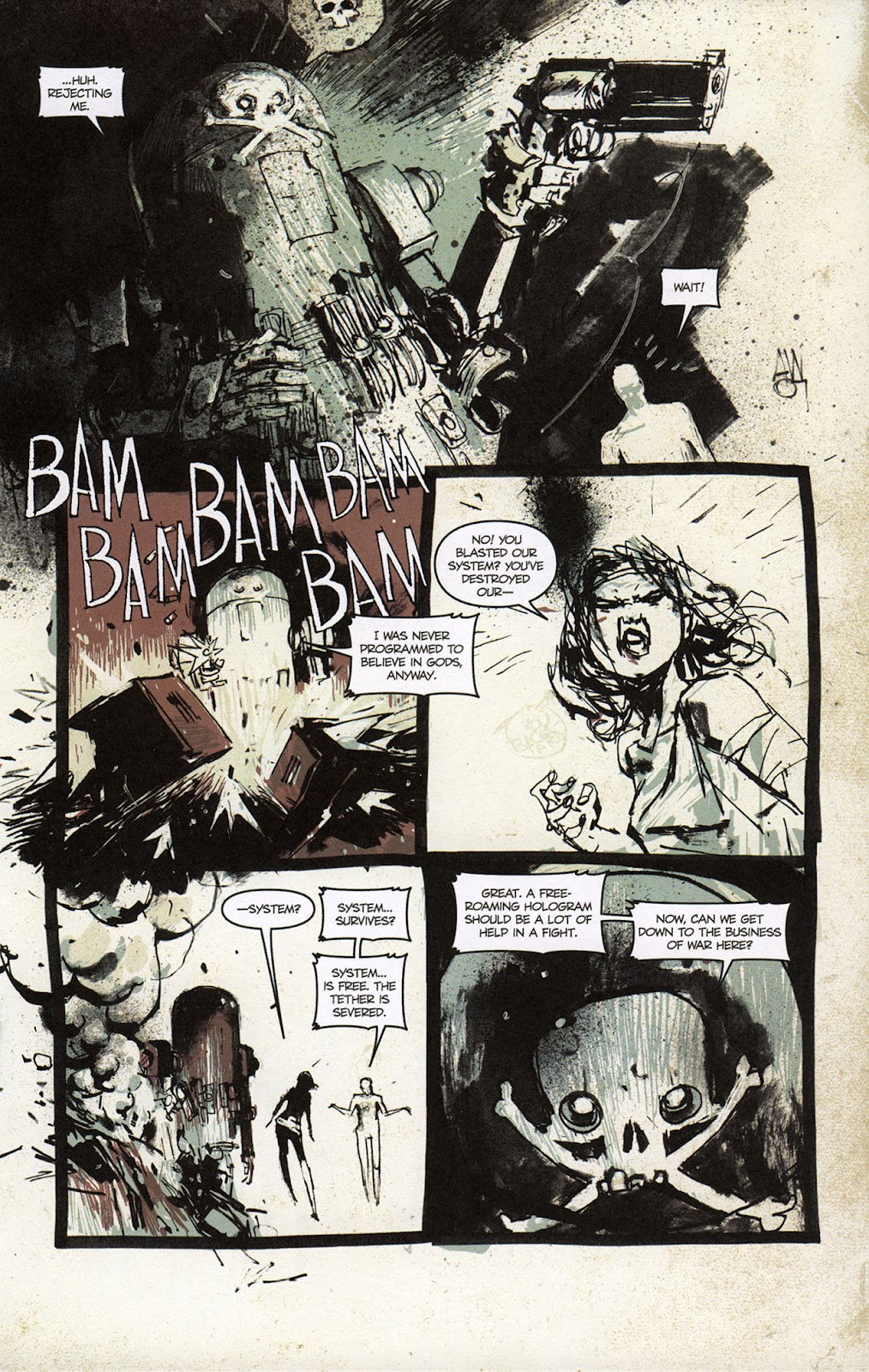 Zombies vs. Robots vs. Amazons Issue #1 Page 18