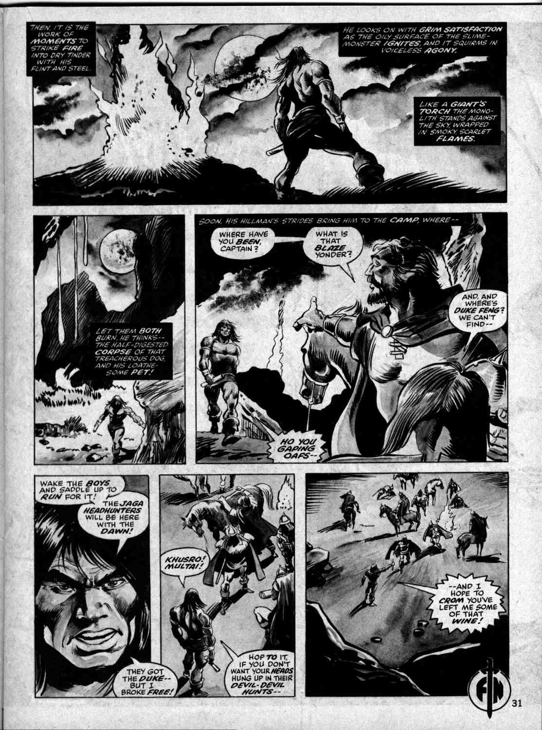 The Savage Sword Of Conan Issue #33 #34 - English 30