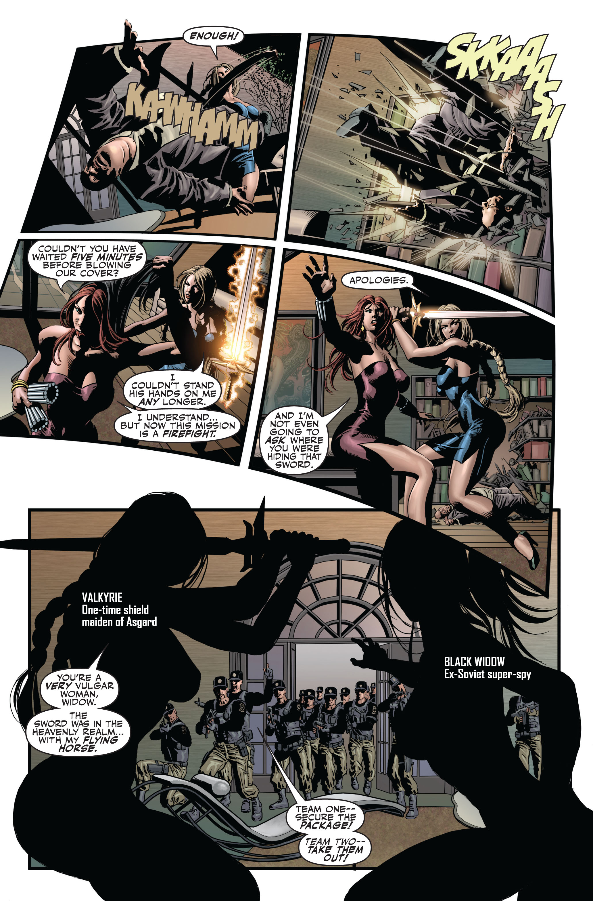 Read online Secret Avengers (2010) comic -  Issue #1 - 4