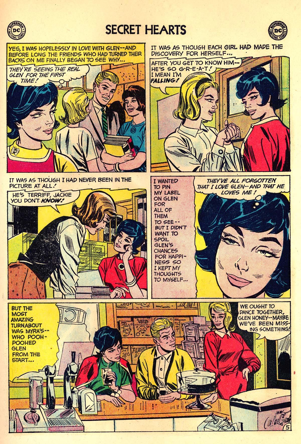 Read online Secret Hearts comic -  Issue #89 - 15