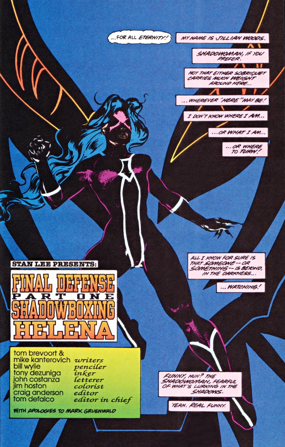 Read online Secret Defenders comic -  Issue #22 - 4