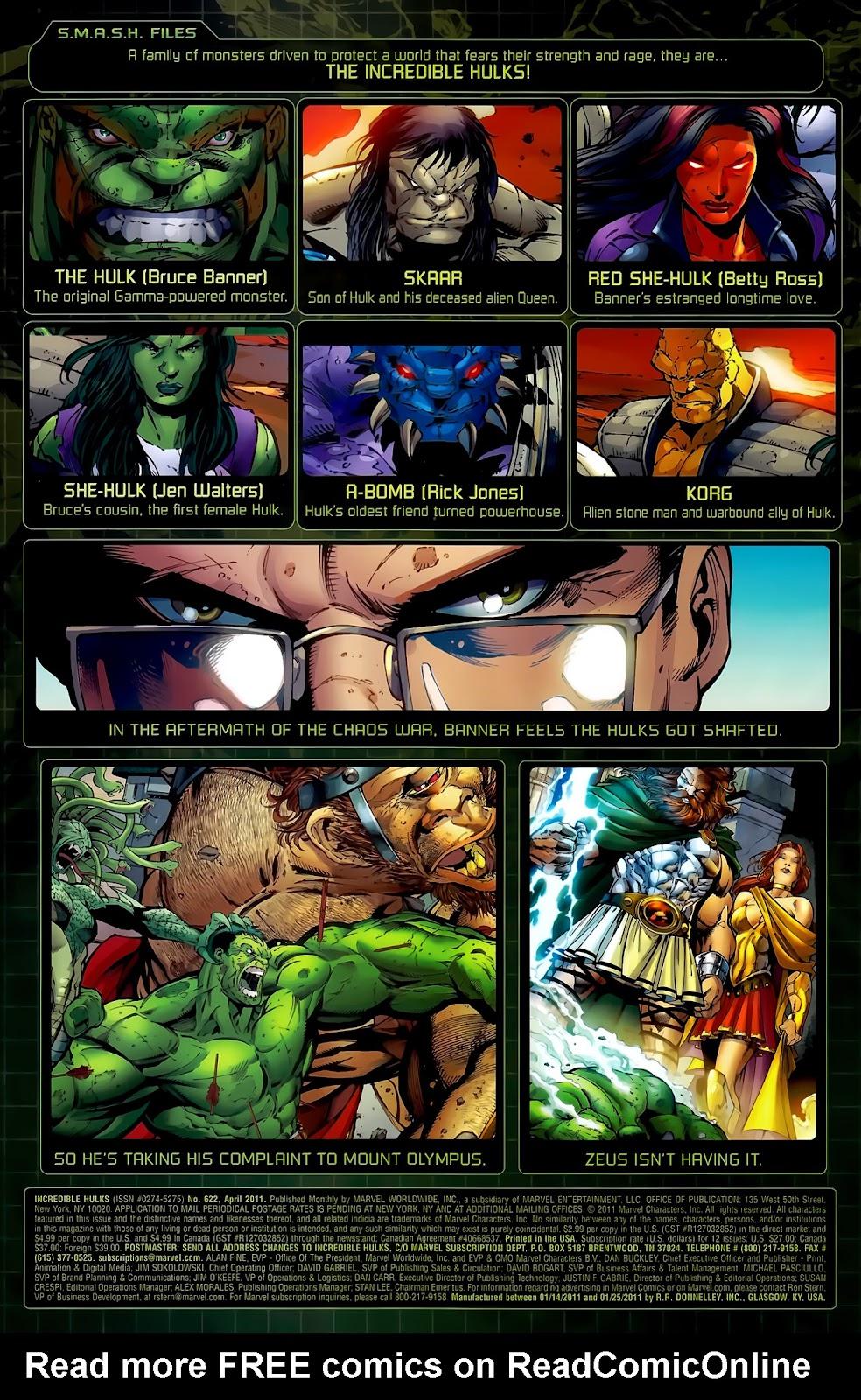 Incredible Hulks (2010) Issue #622 #12 - English 2