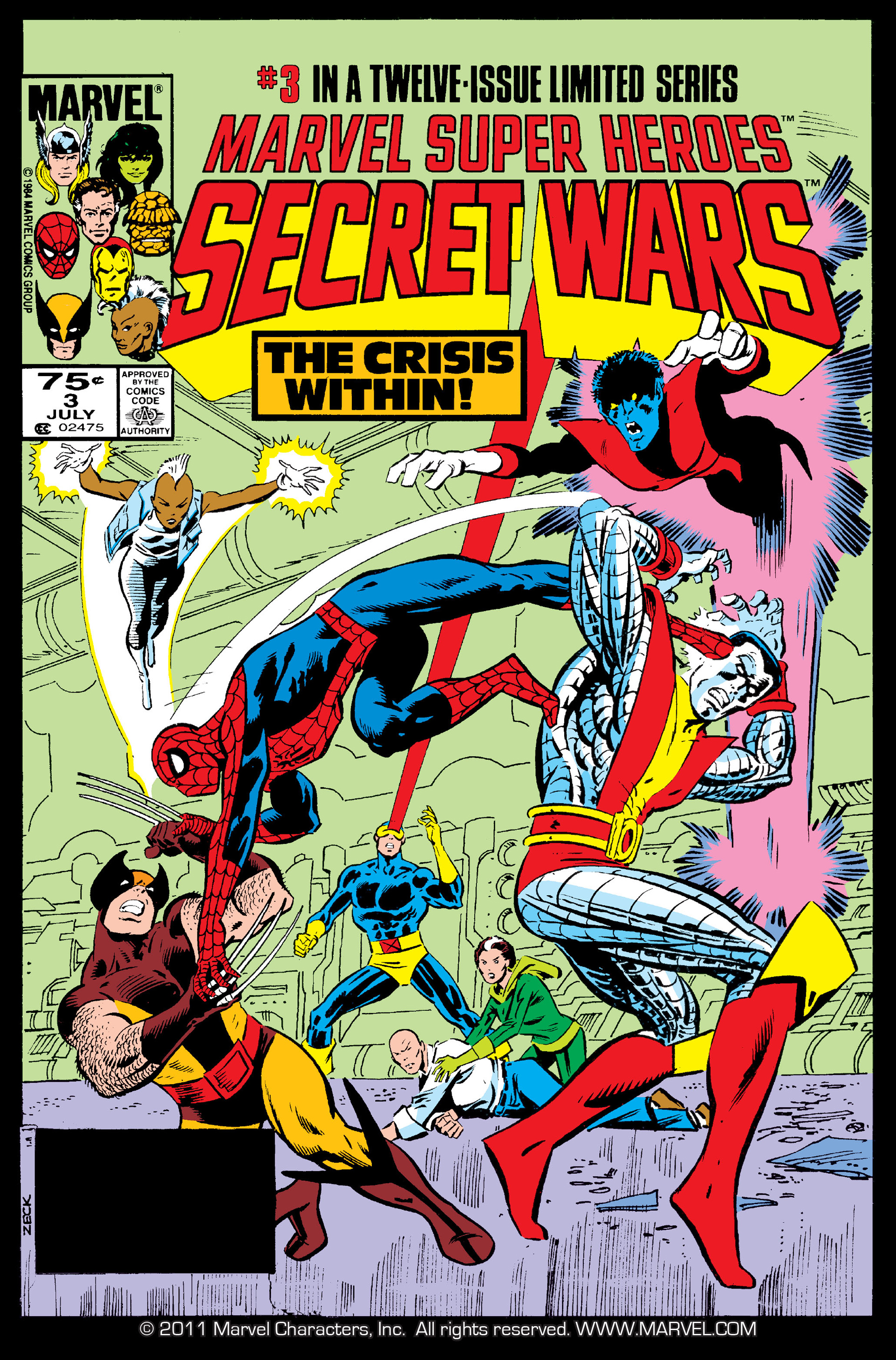 Marvel Super Heroes Secret Wars (1984) 3 Page 1