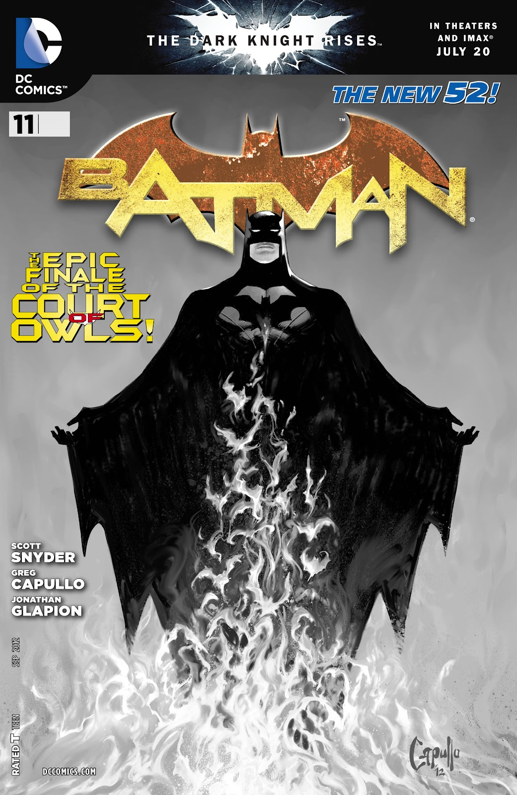 Batman (2011) Issue #11 #26 - English 34