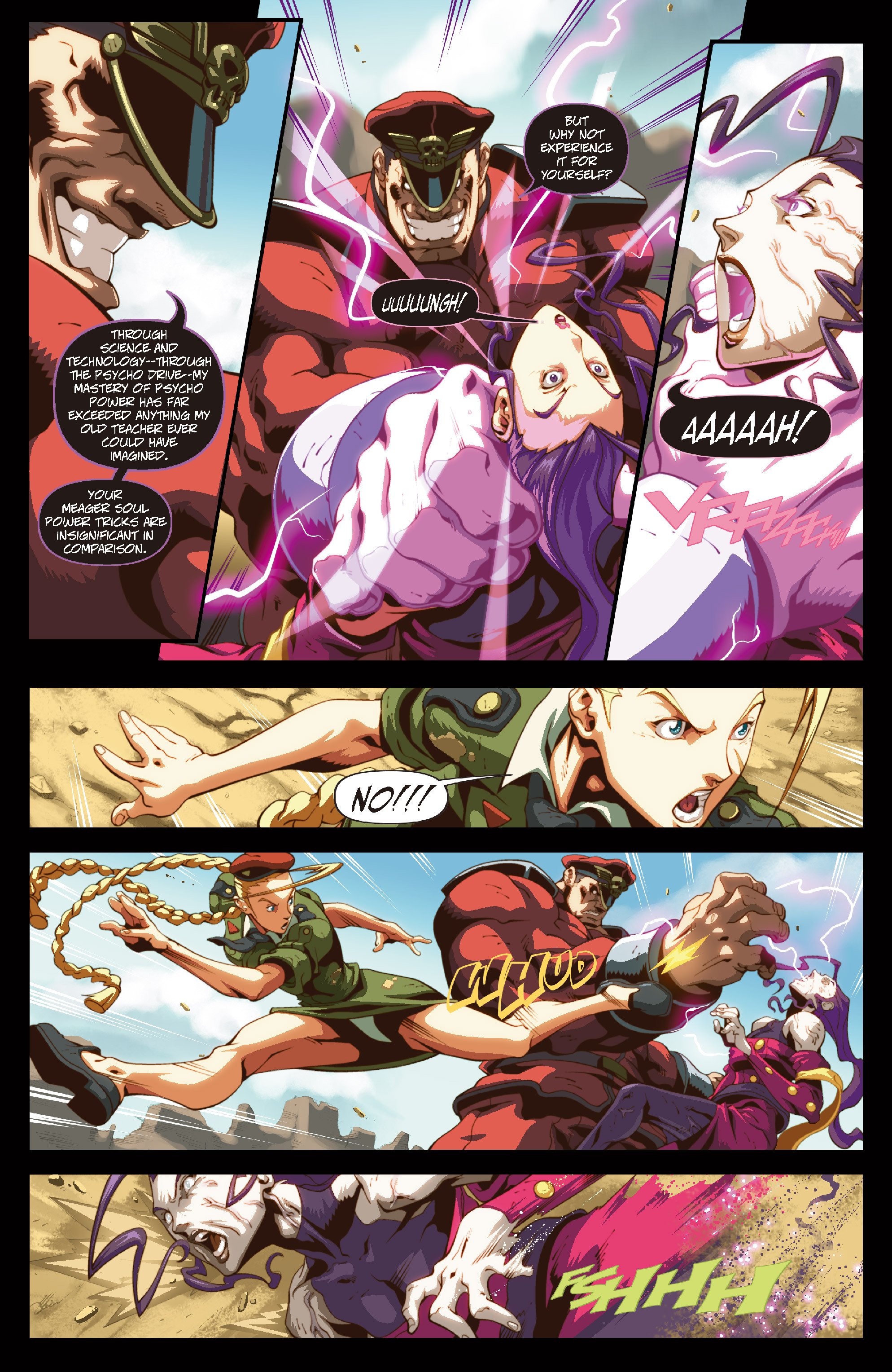 Street Fighter II chap 6 pic 14