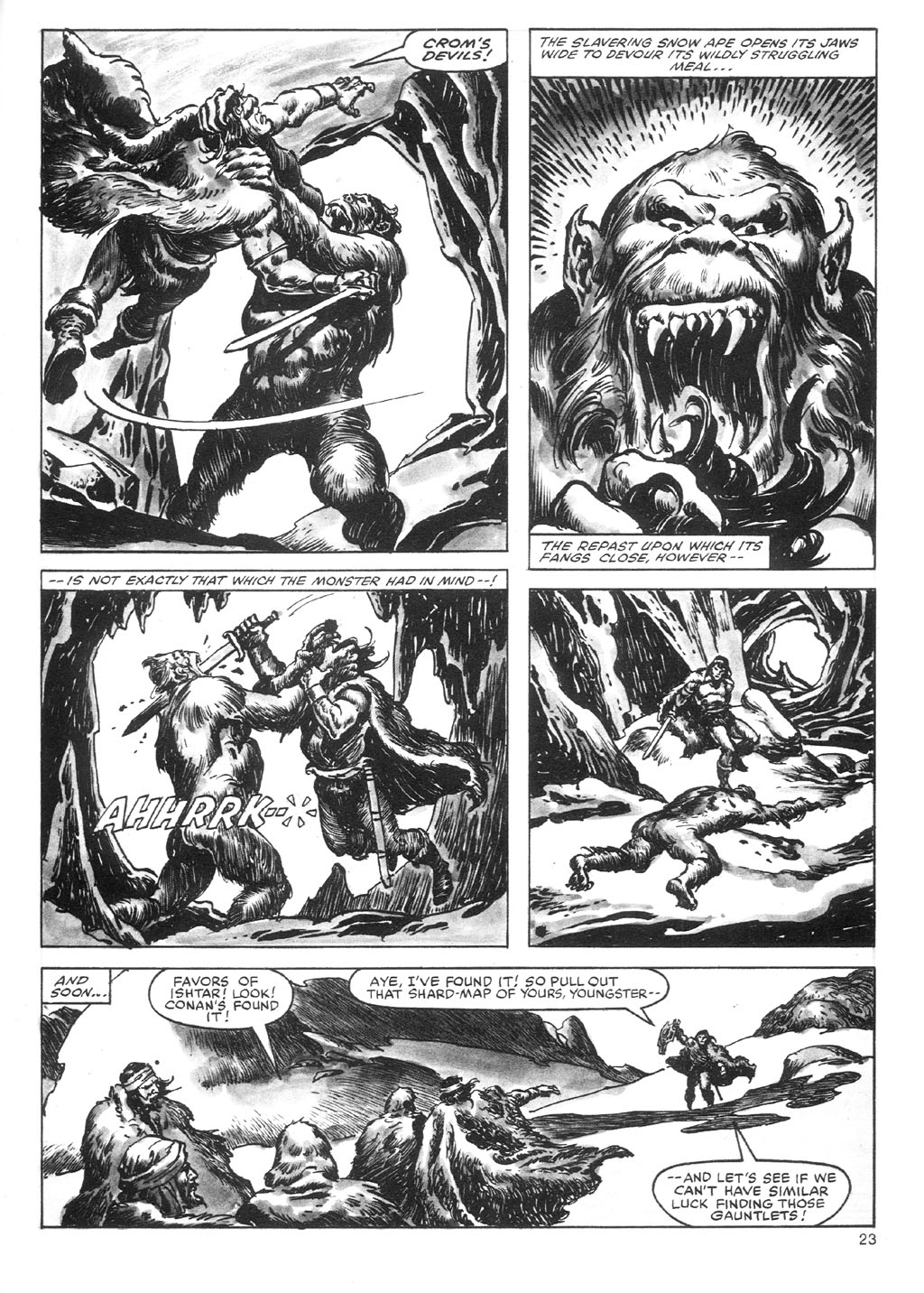The Savage Sword Of Conan Issue #87 #88 - English 23