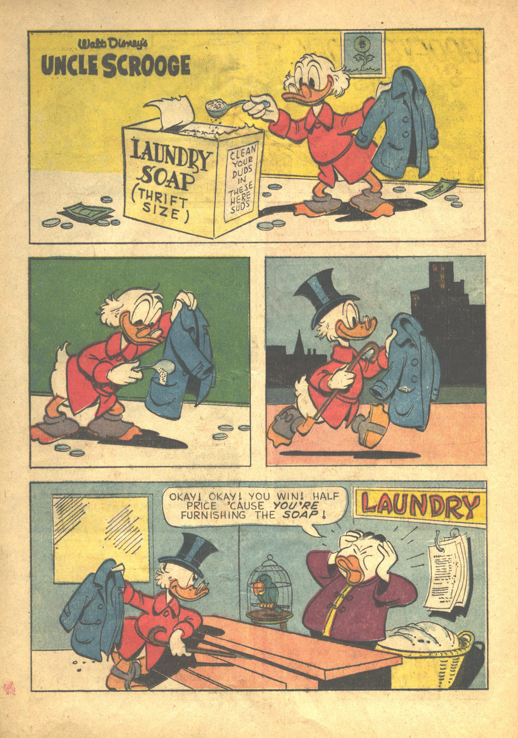Uncle Scrooge (1953) Issue #58 #58 - English 24