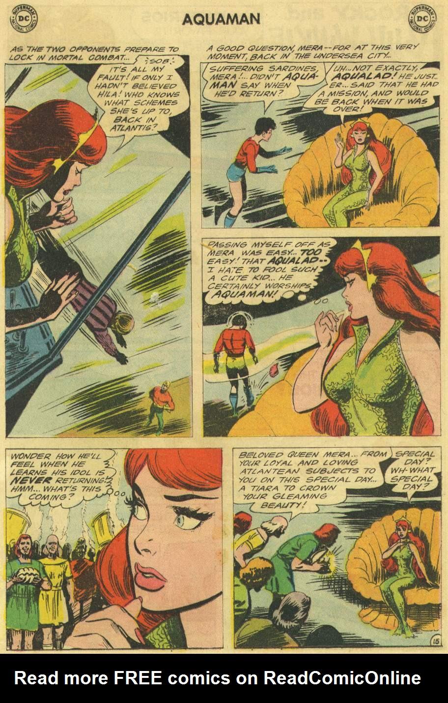 Read online Aquaman (1962) comic -  Issue #22 - 20