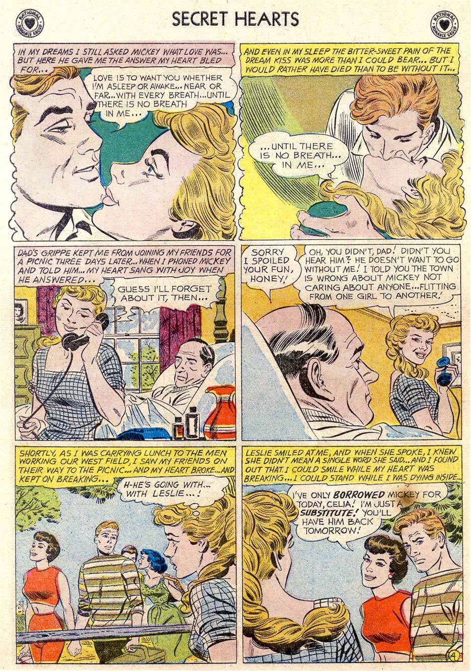Read online Secret Hearts comic -  Issue #65 - 29