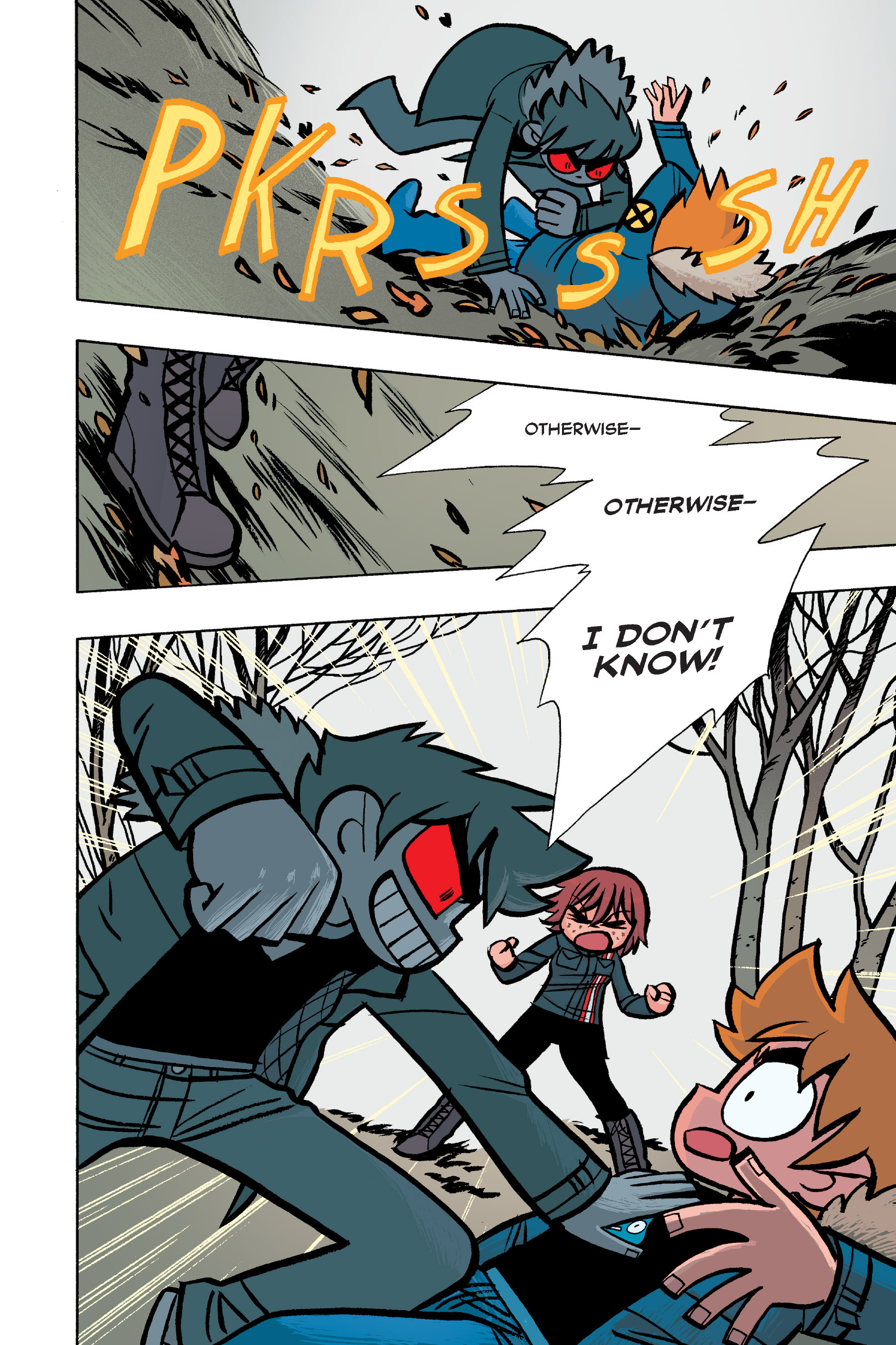 Read online Scott Pilgrim comic -  Issue #6 - 83