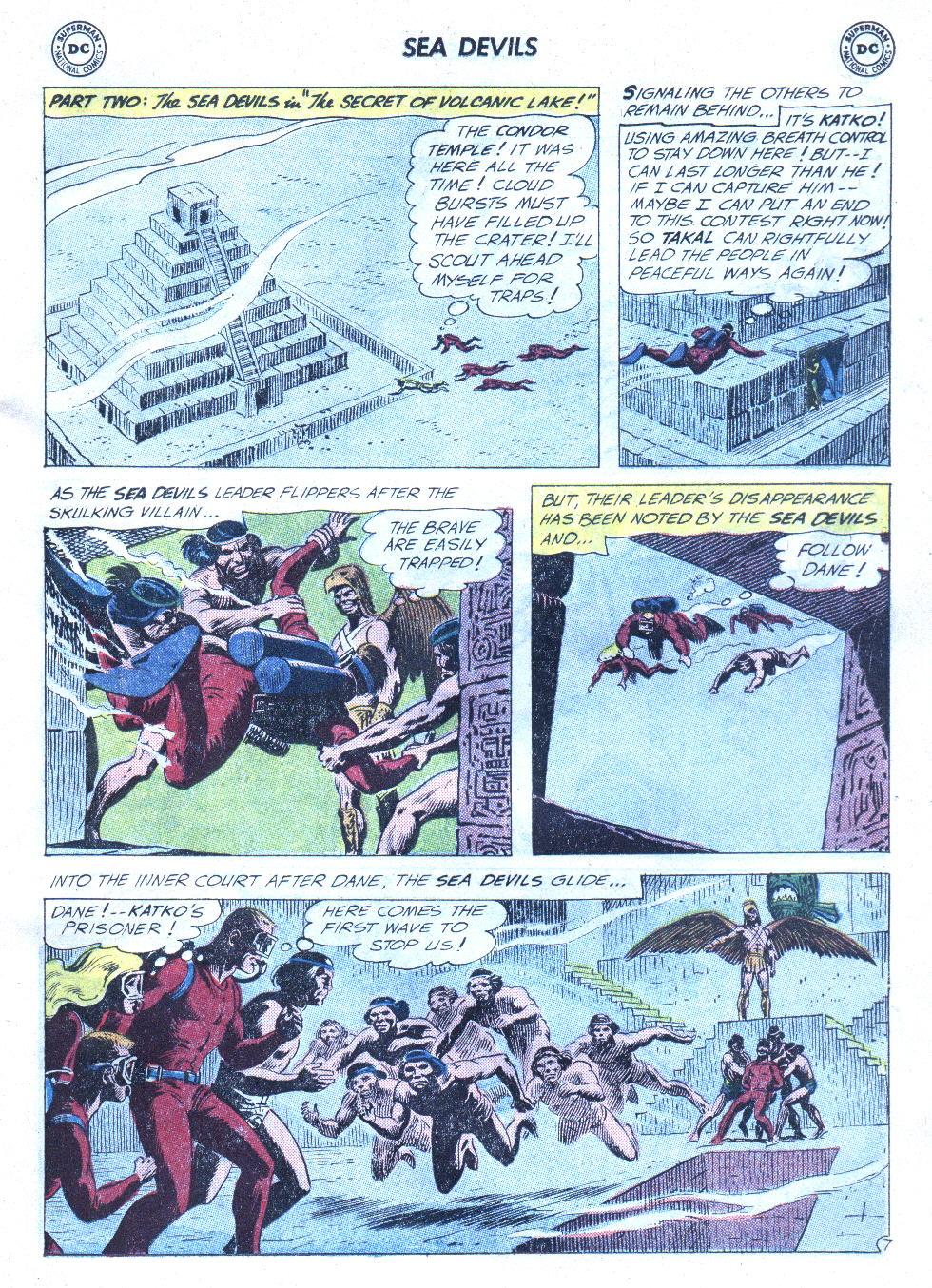 Read online Sea Devils comic -  Issue #4 - 28