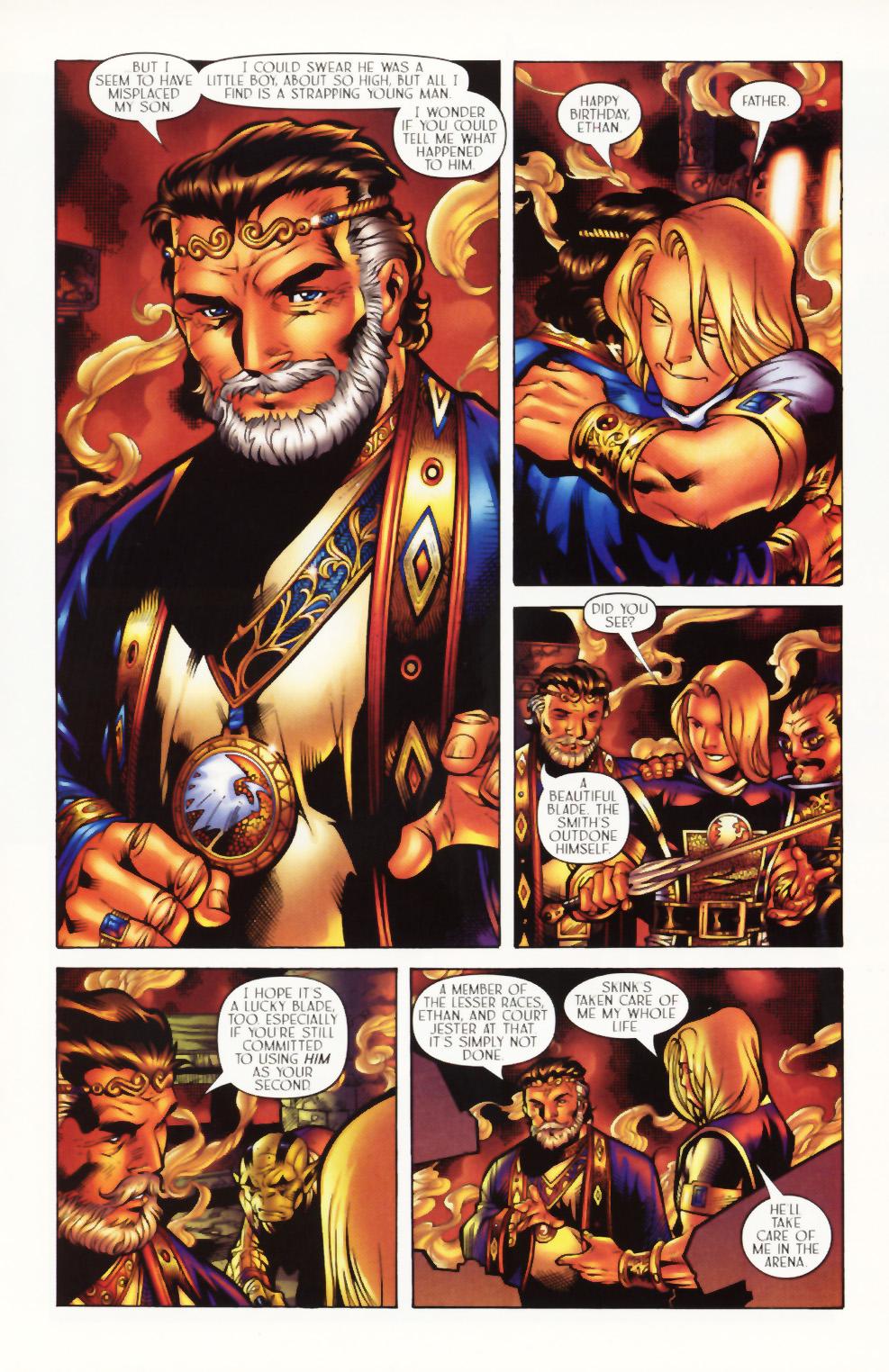 Read online Scion comic -  Issue #1 - 13