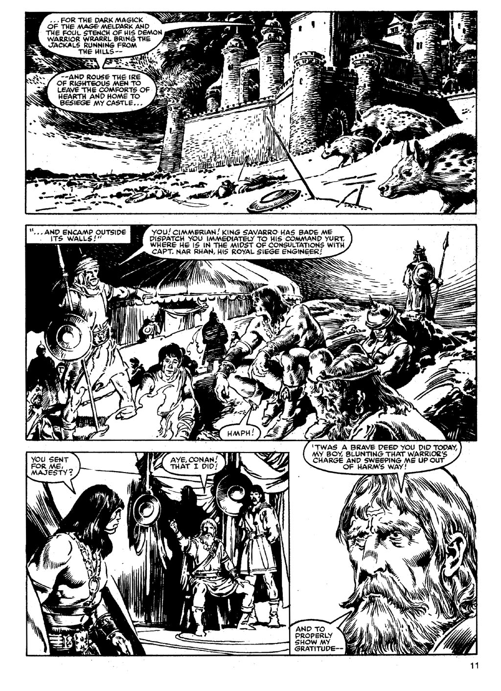 The Savage Sword Of Conan Issue #90 #91 - English 10