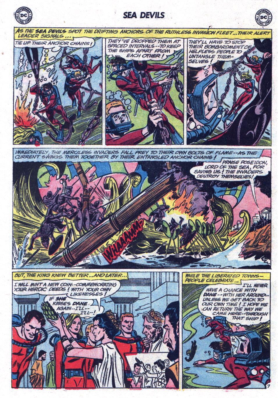 Read online Sea Devils comic -  Issue #13 - 20