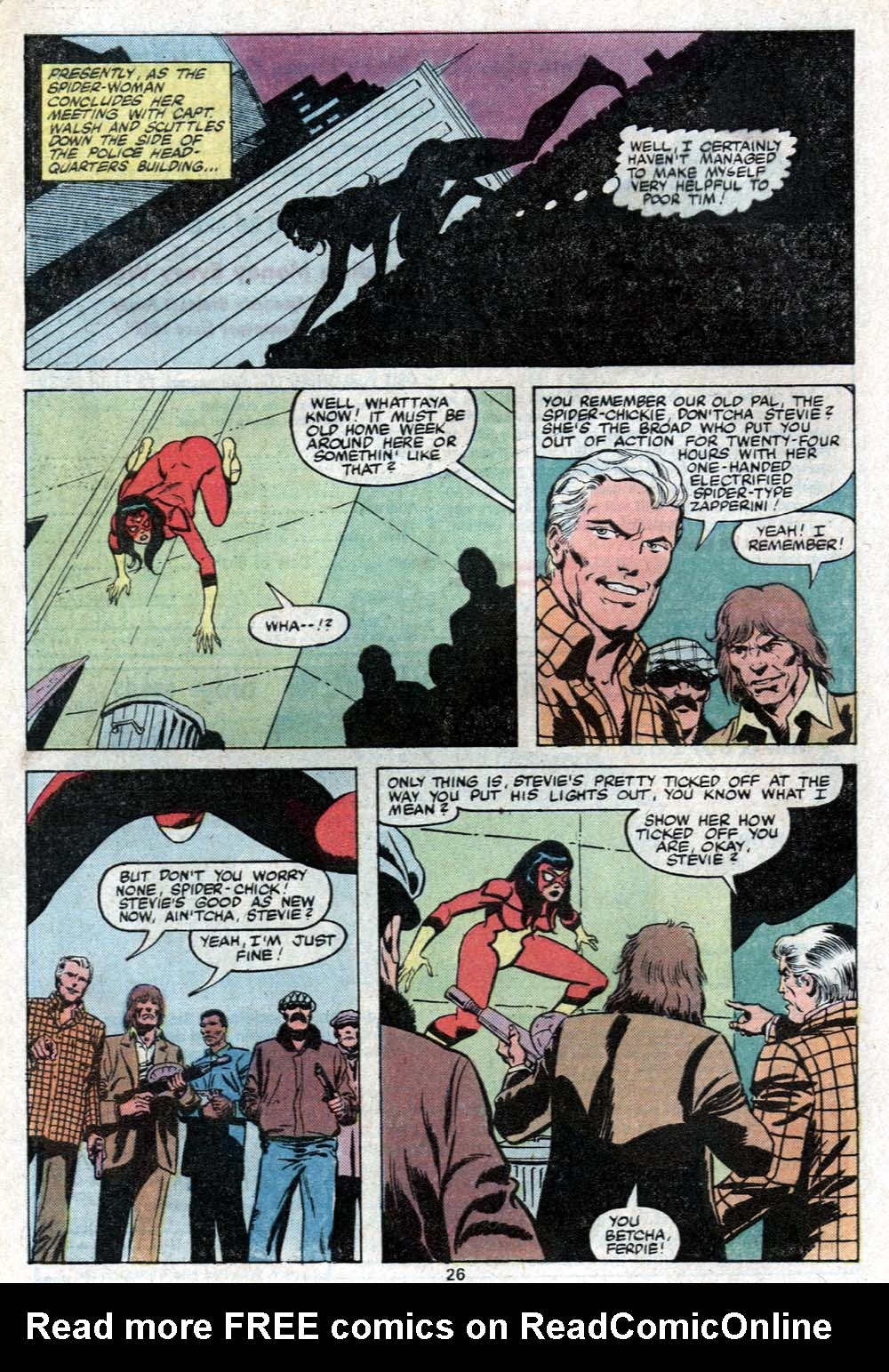 Spider-Woman (1978) Issue #24 #24 - English 17