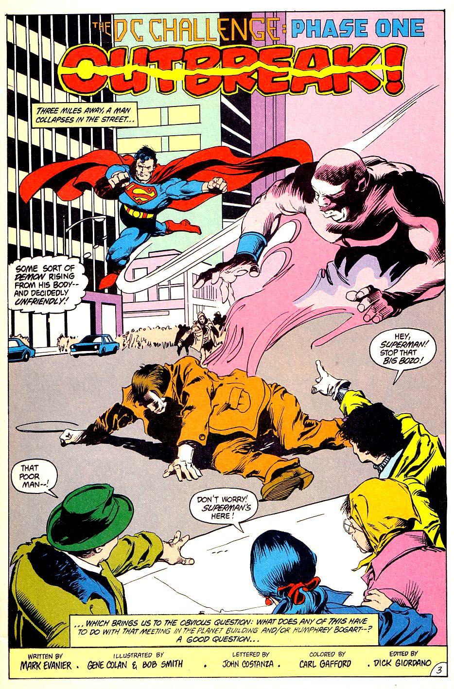 DC Challenge #1 #12 - English 4