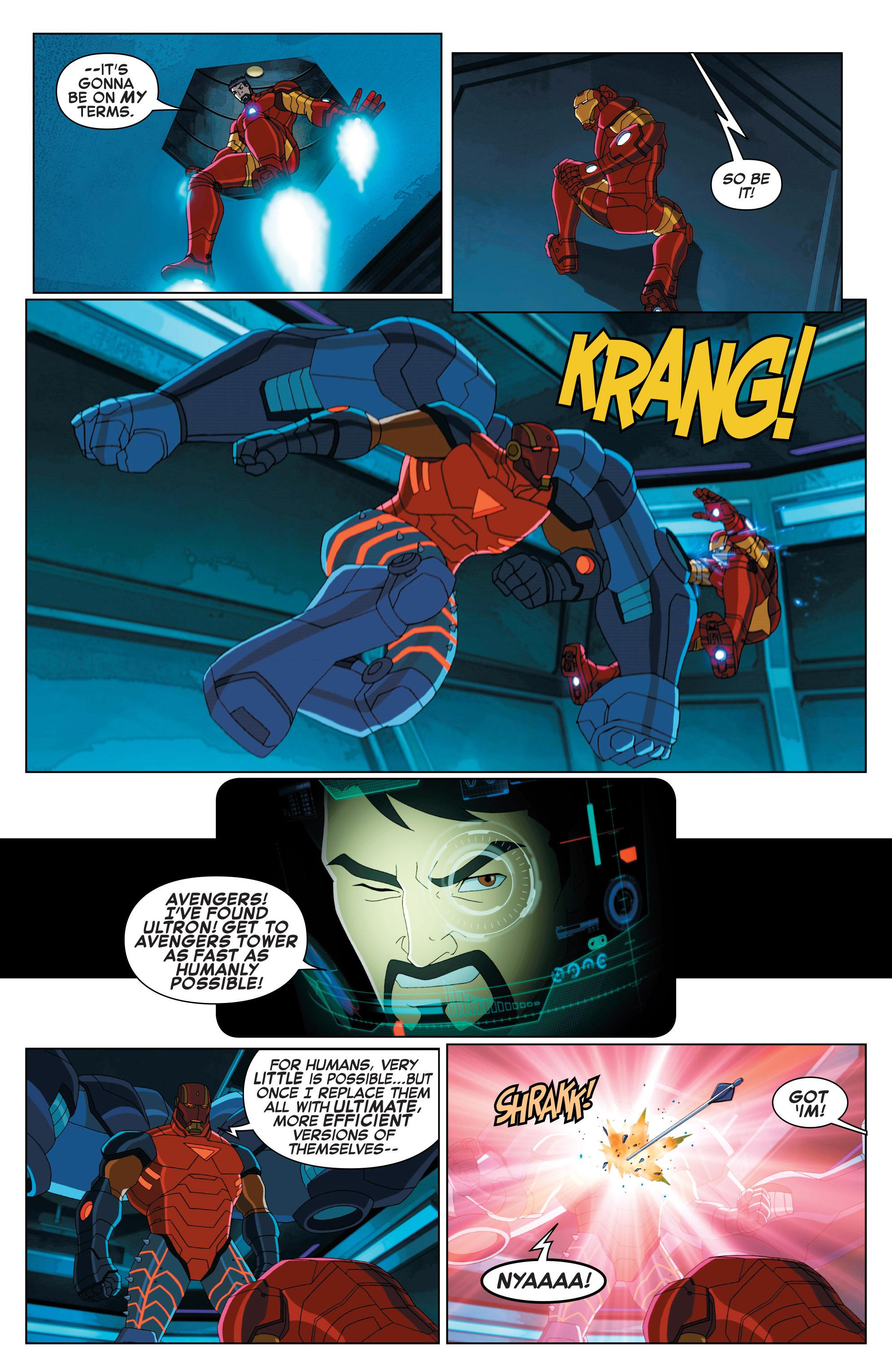 Read online Marvel Universe Avengers: Ultron Revolution comic -  Issue #2 - 10