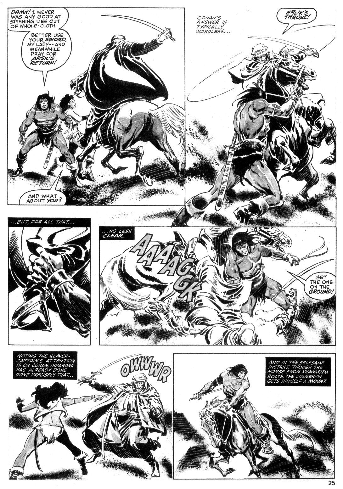 The Savage Sword Of Conan Issue #55 #56 - English 25