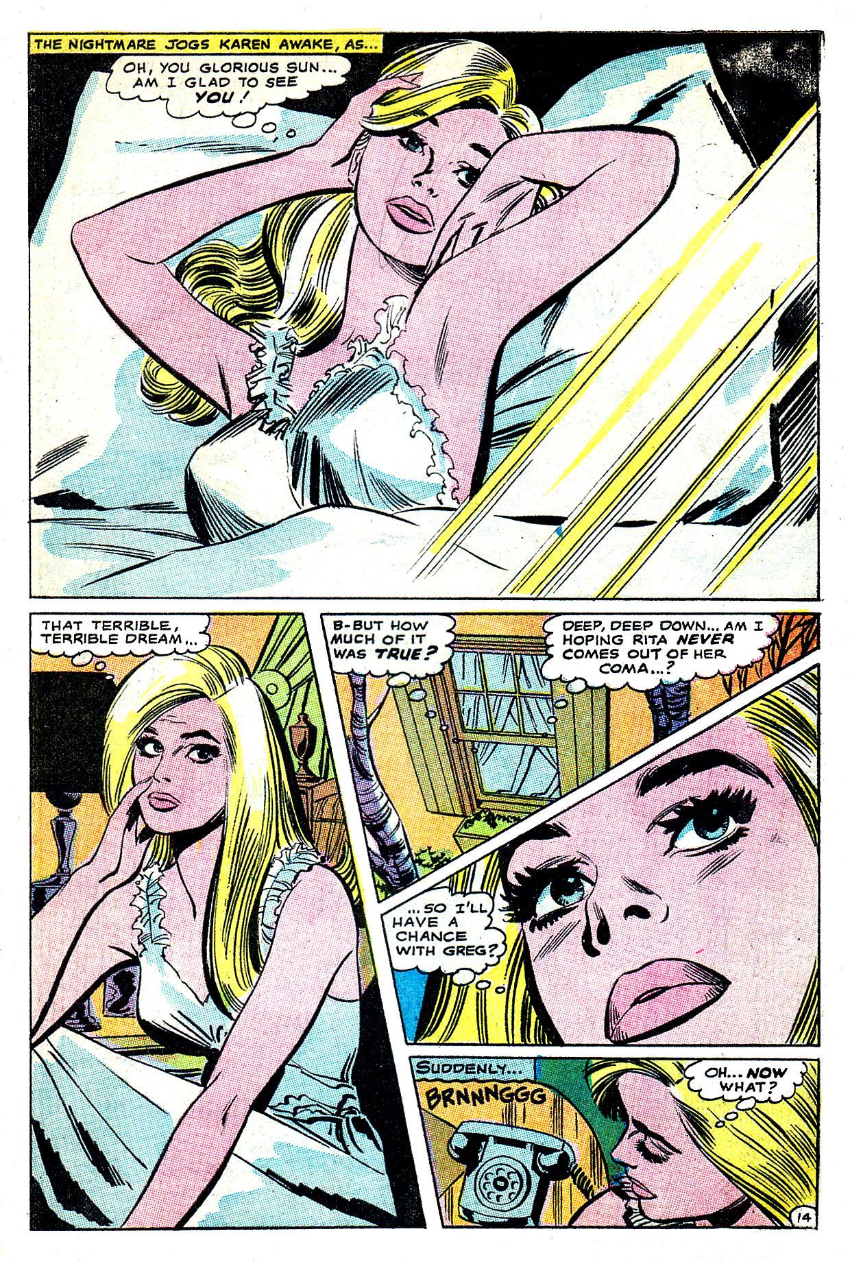Read online Secret Hearts comic -  Issue #135 - 33