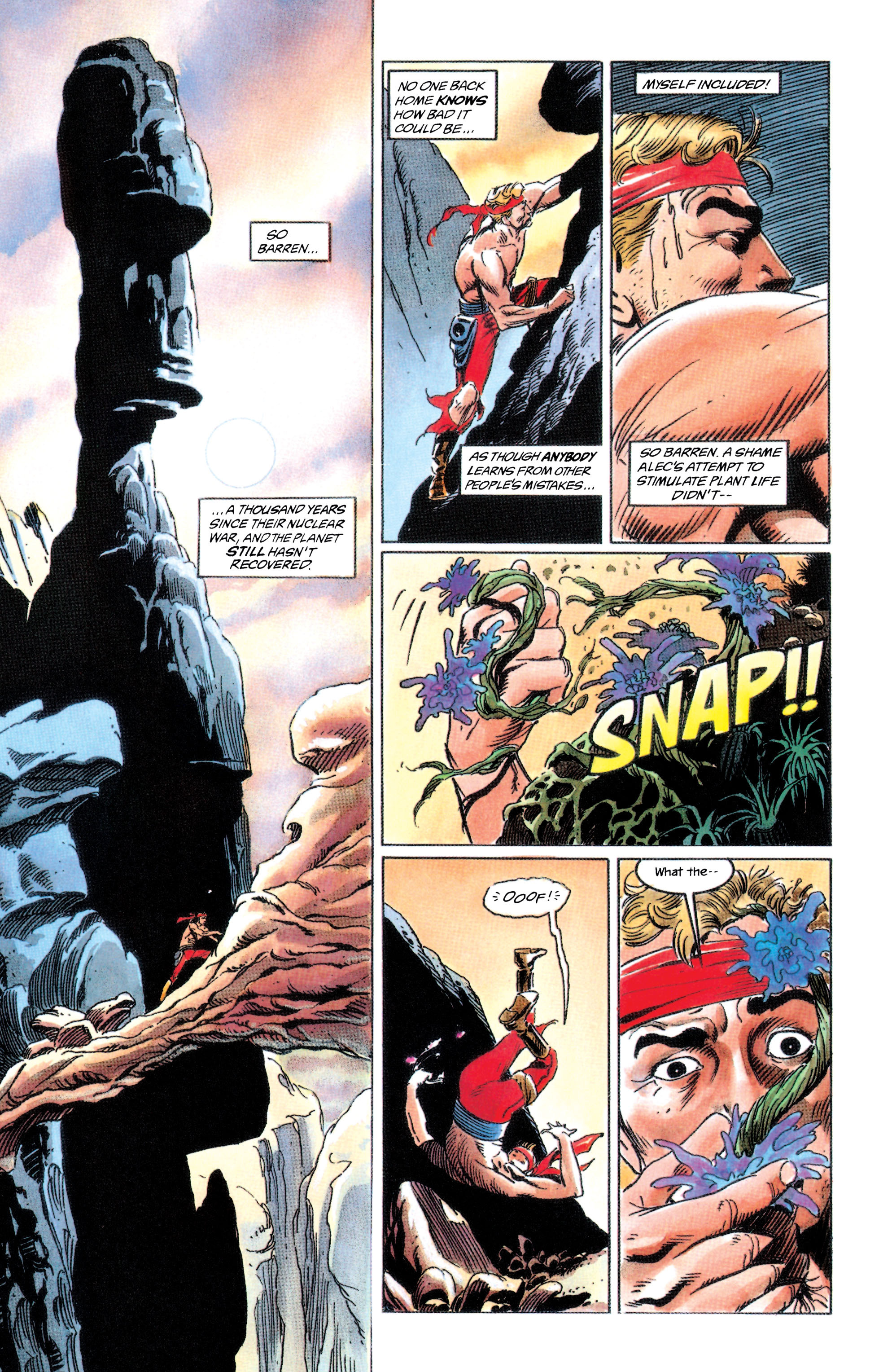 Adam Strange (1990) 2 Page 18