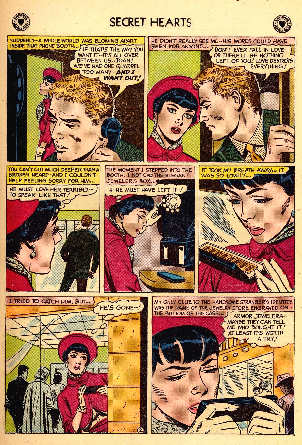 Read online Secret Hearts comic -  Issue #59 - 11