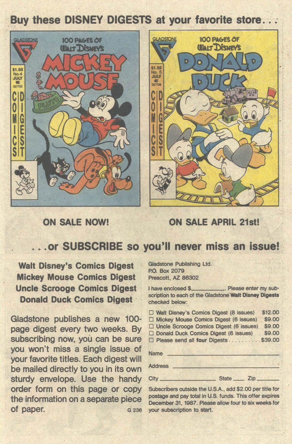 Uncle Scrooge (1953) Issue #219 #219 - English 27