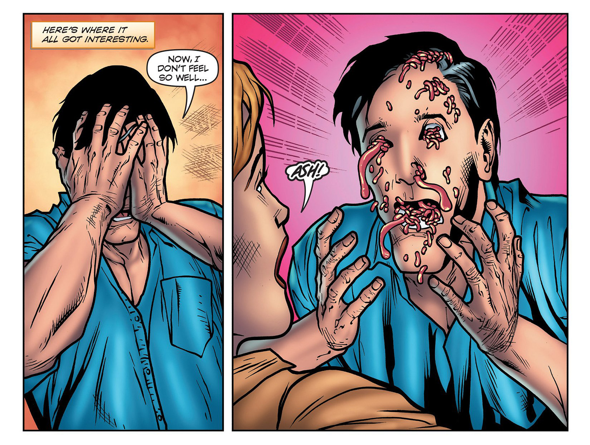 Read online Evil Dead 2: Cradle of the Damned comic -  Issue #3 - 9