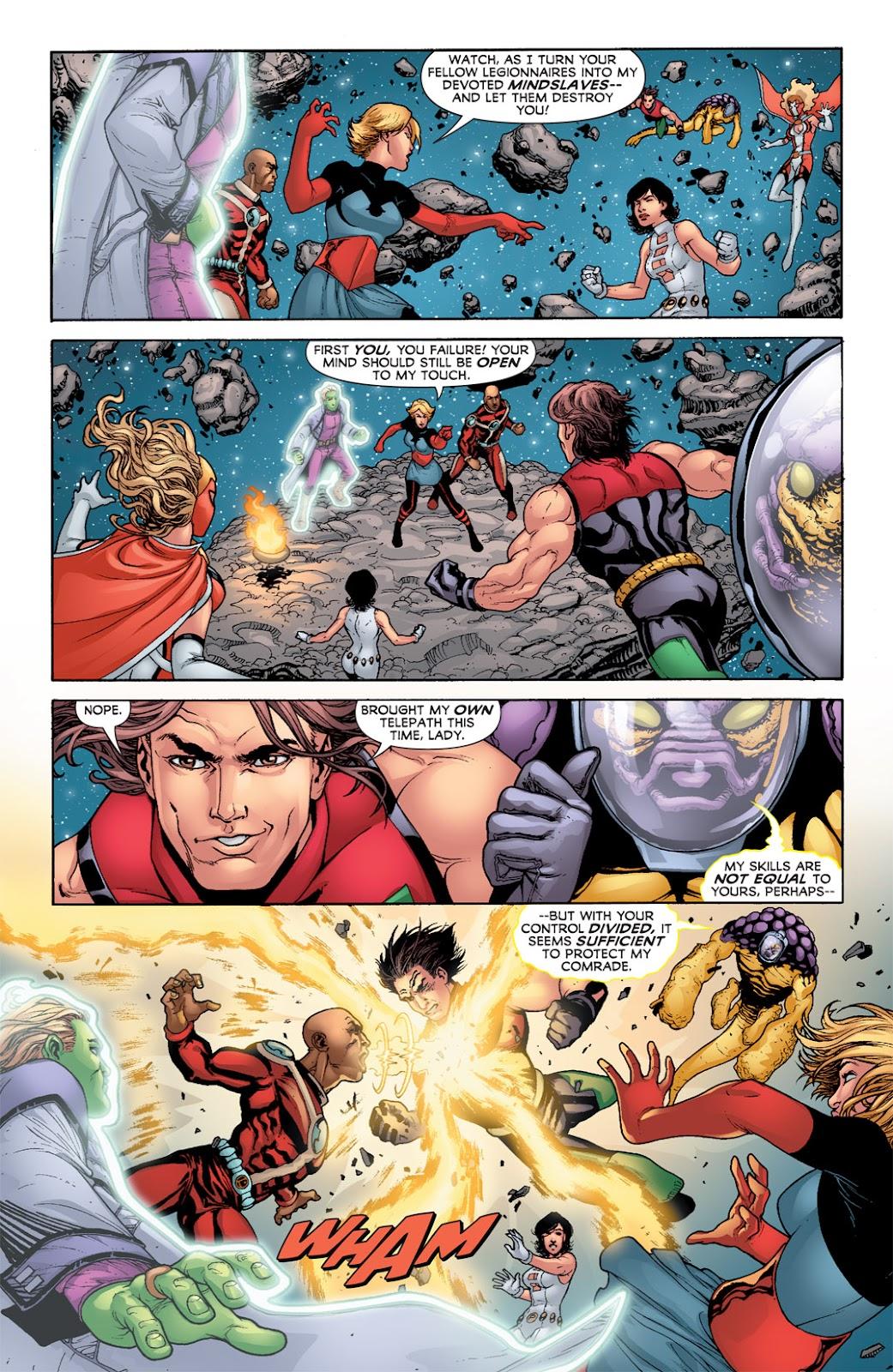 Legion of Super-Heroes (2010) Issue #3 #4 - English 22