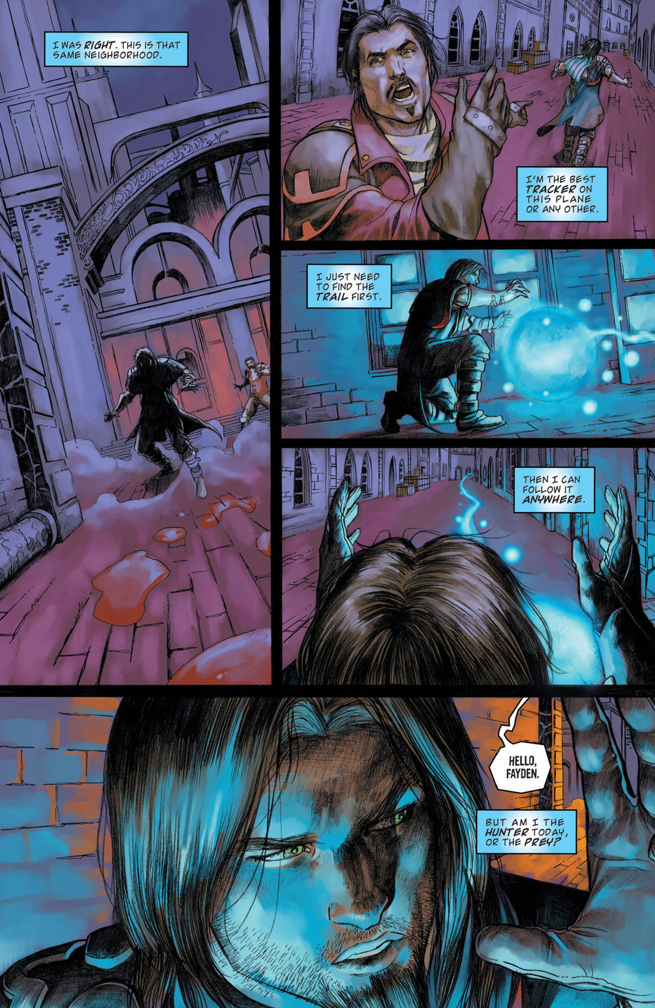 Read online Magic: The Gathering--Path of Vengeance comic -  Issue #1 - 18