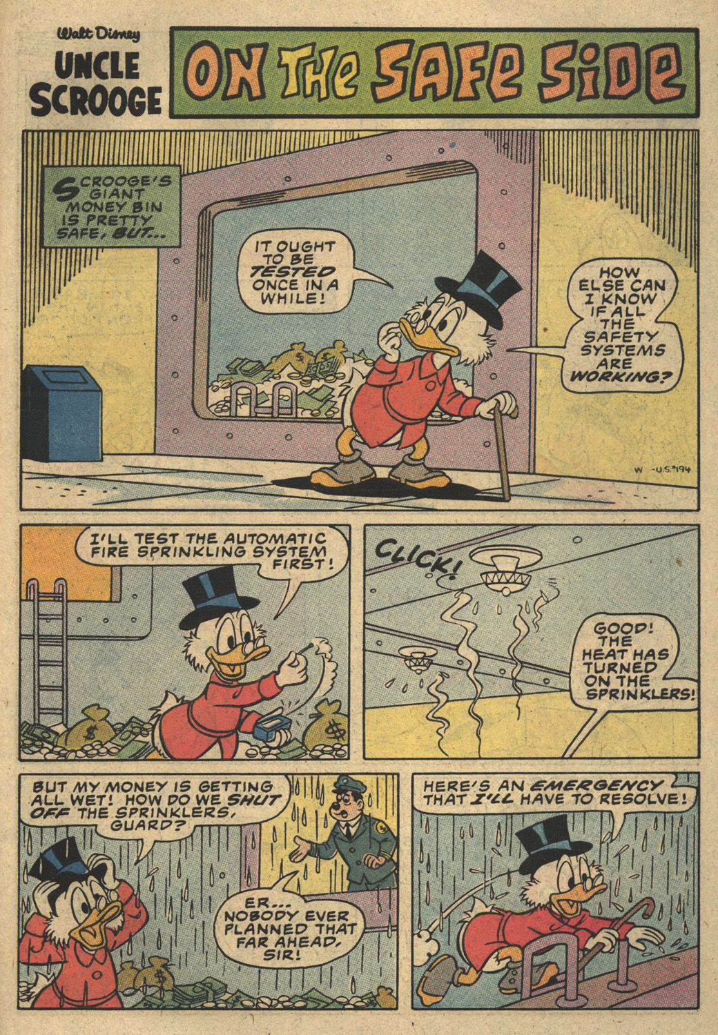Uncle Scrooge (1953) Issue #194 #194 - English 31