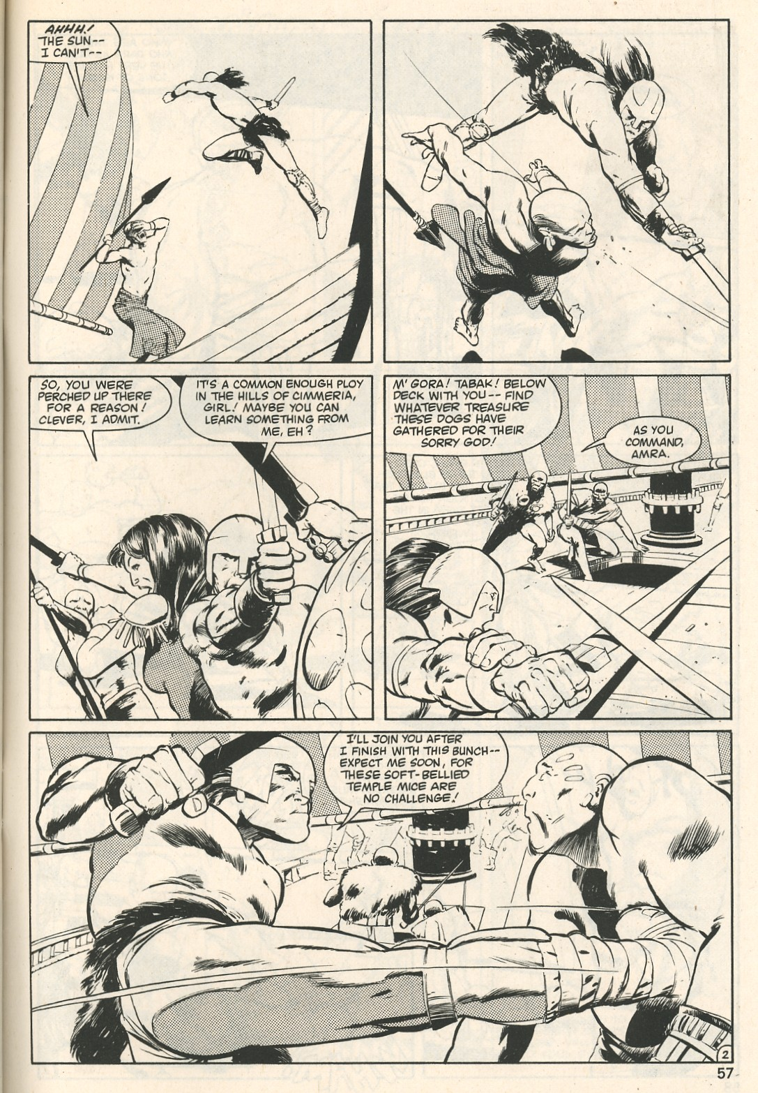 The Savage Sword Of Conan Issue #107 #108 - English 57