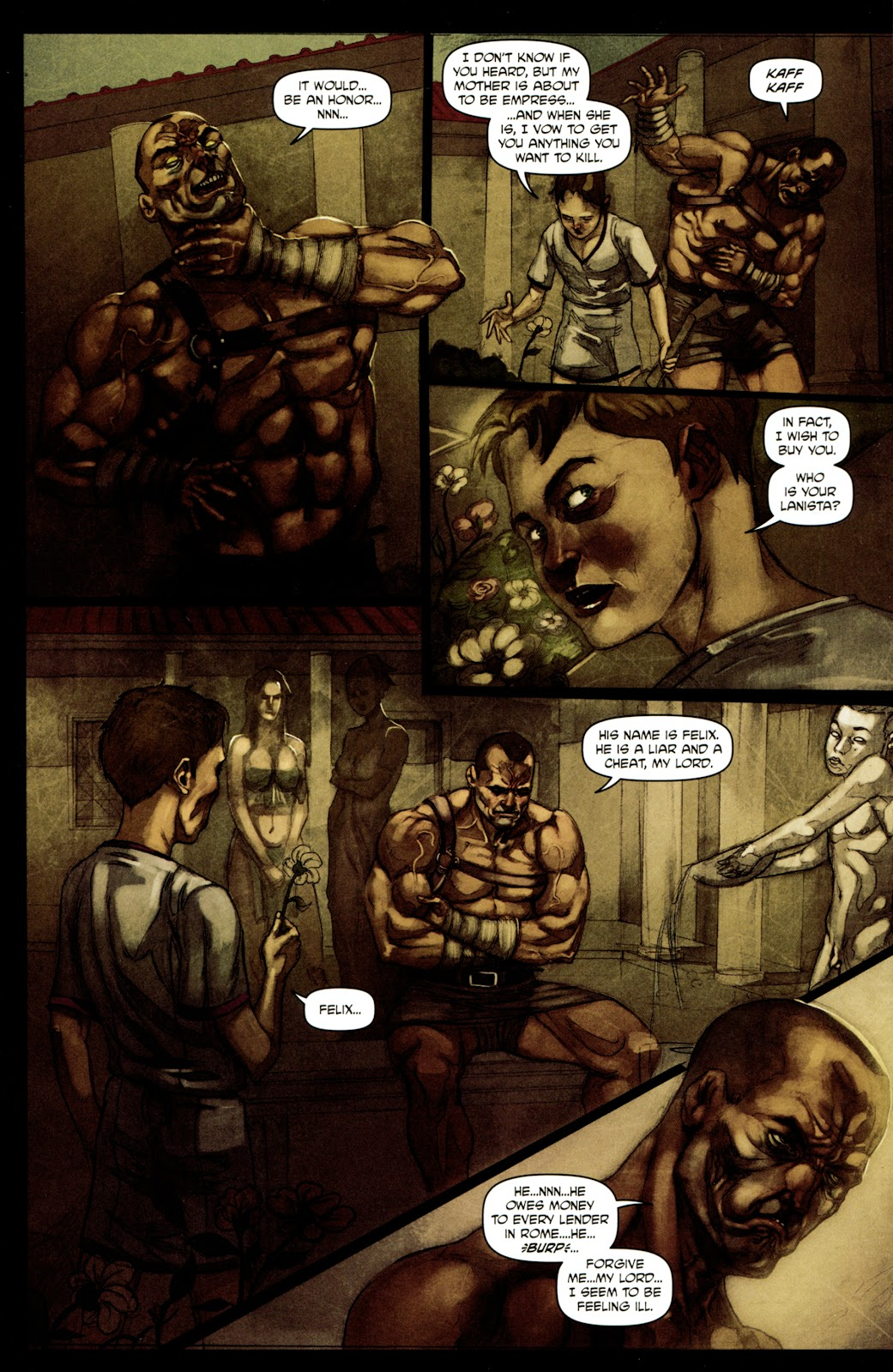 Caligula: Heart of Rome Issue #4 #4 - English 9