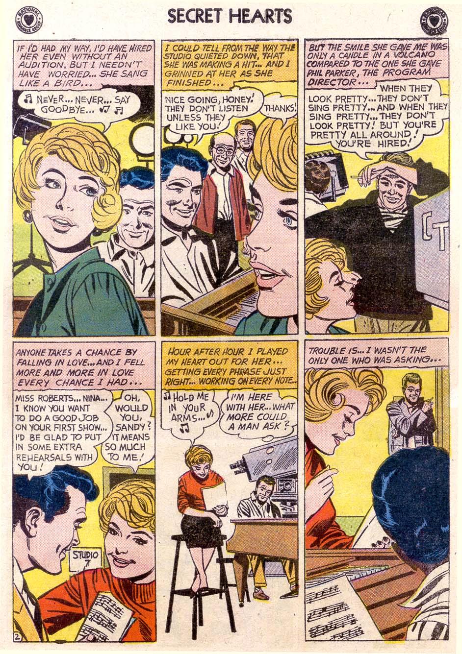 Read online Secret Hearts comic -  Issue #65 - 9