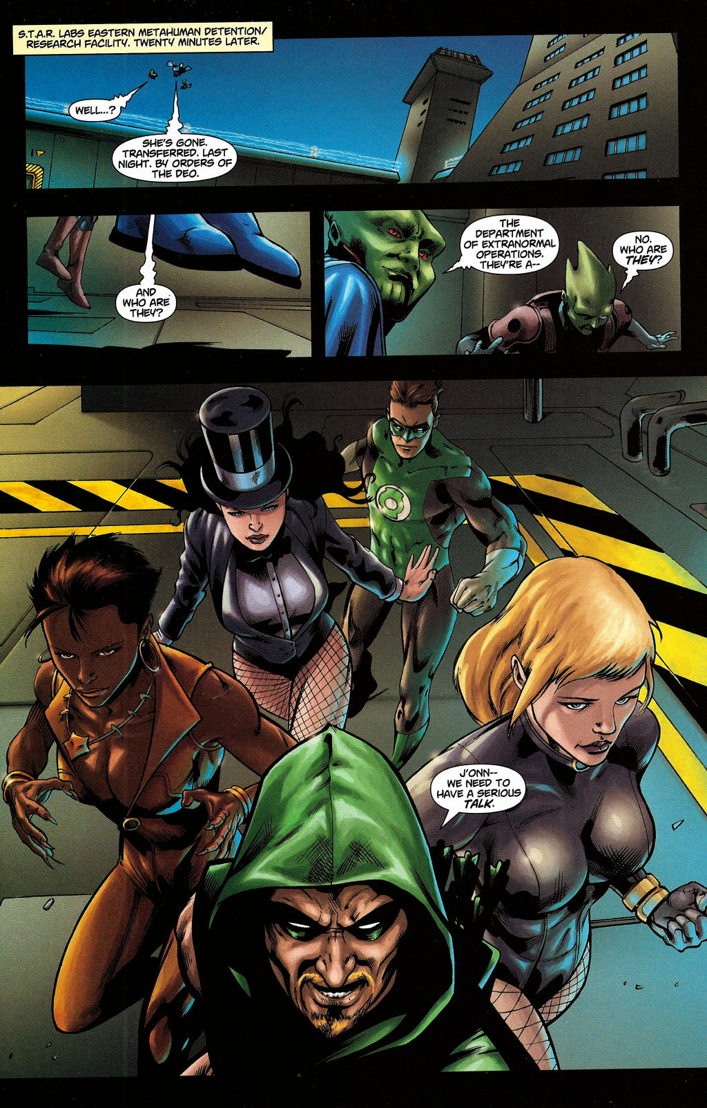 Read online Martian Manhunter (2006) comic -  Issue #5 - 28