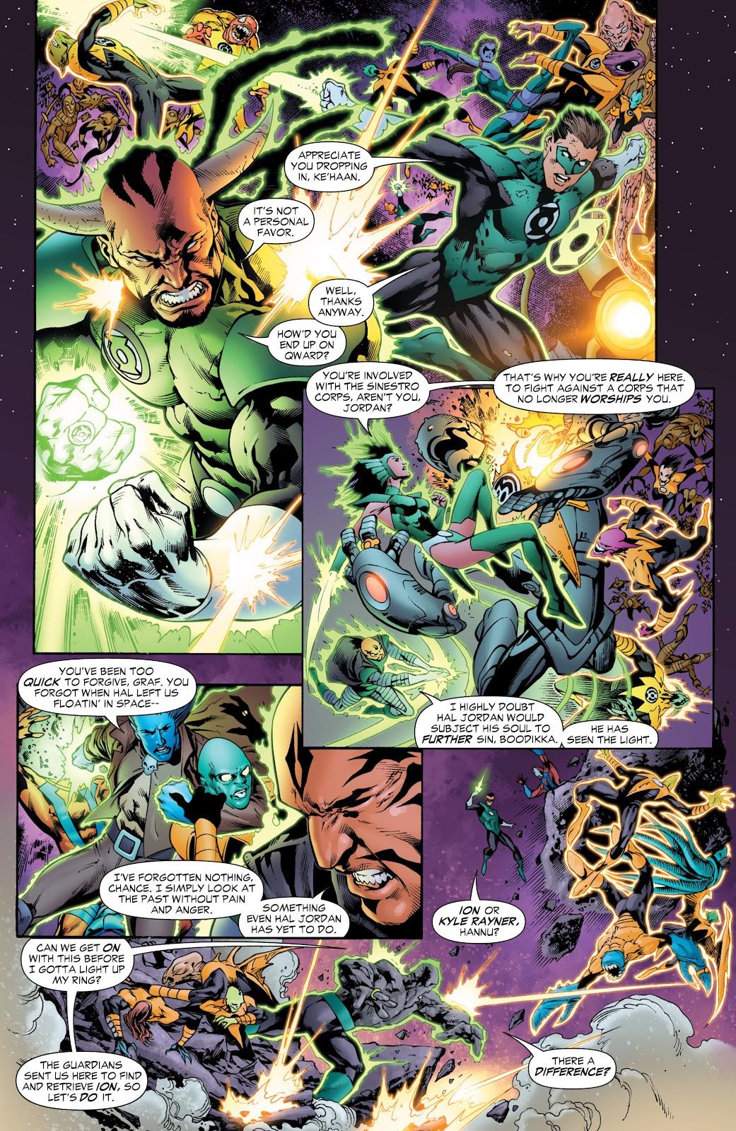 Green Lantern: The Sinestro Corps War Full #1 - English 103