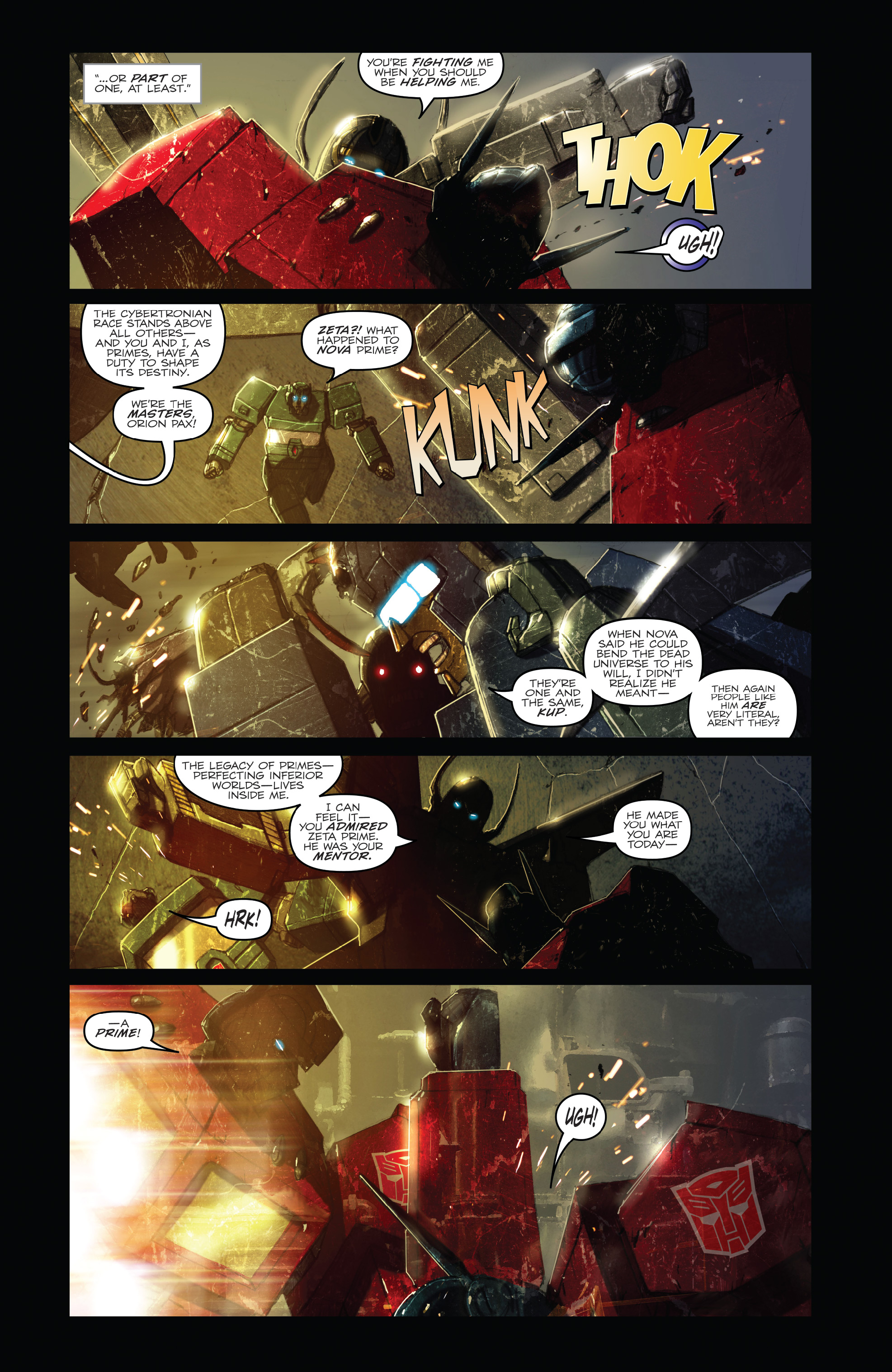 Read online The Transformers: Dark Cybertron Finale comic -  Issue # Full - 62